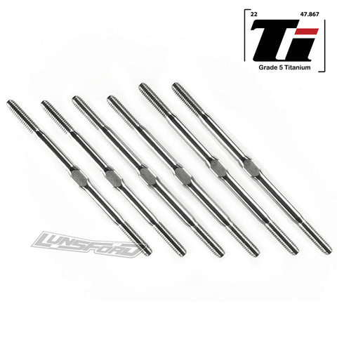 3mm PUNISHER Titanium Turnbuckle Kit for Schumacher Cougar Laydown