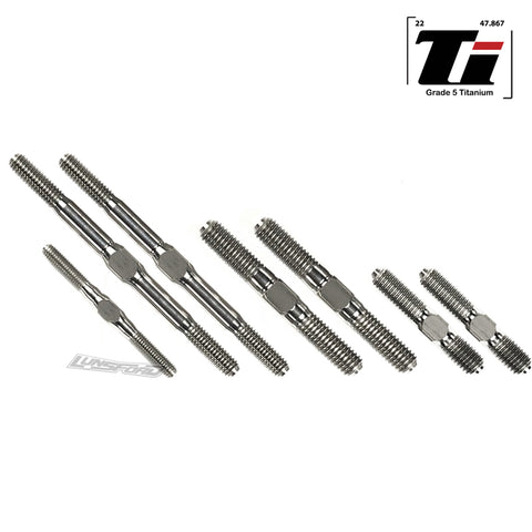 3mm/4mm/5mm Titanium Turnbuckle Kit for Kyosho Inferno MP9 TKi4