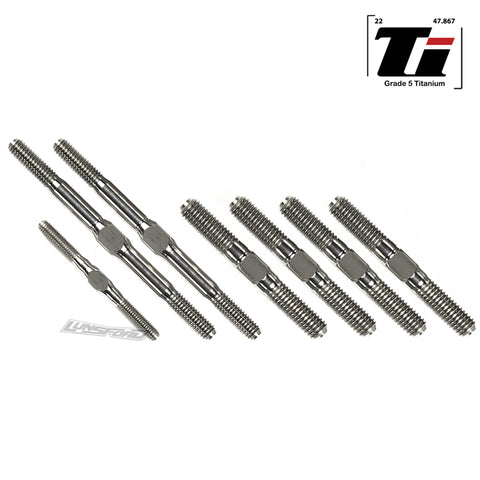 3mm/4mm/5mm Titanium Turnbuckle Kit for Kyosho Inferno MP10
