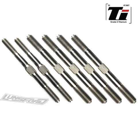 4/5mm Titanium Turnbuckle Kit for TLR 8ight 3.0 / 4.0