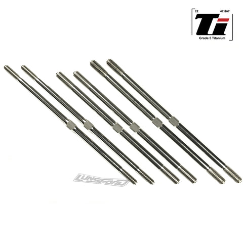 4mm/5mm Titanium Turnbuckle Kit for TLR 8ight-T 4.0