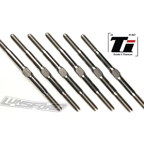 3mm PUNISHER Titanium Turnbuckle Kit for Kyosho Ultima RT5/RT6