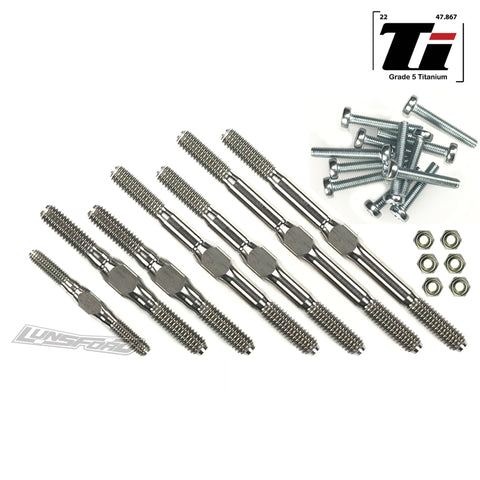 3/4mm Titanium Turnbuckle Kit for TRAXXAS® Rustler 2wd All