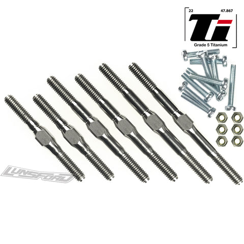3/4mm Titanium Turnbuckle Kit for ALL TRAXXAS® Bandit