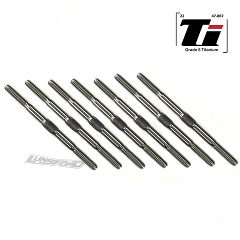 3mm PUNISHER Titanium Turnbuckle Kit for Serpent Spyder SDX4 EVO