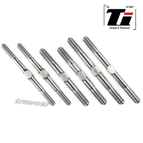 4mm/5mm Titanium Turnbuckle Kit for Hot Bodies D819