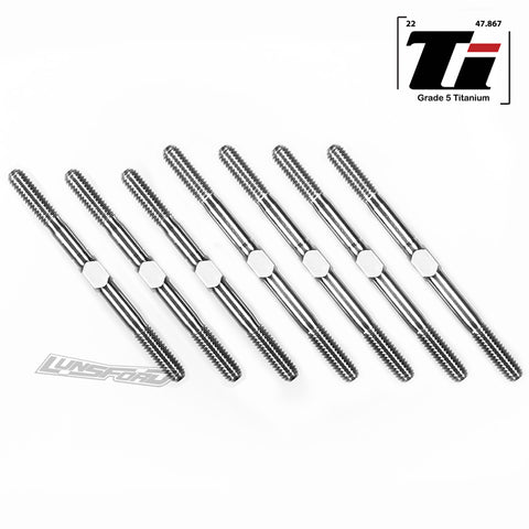 3.5mm SUPER DUTY Titanium Turnbuckle Kit for TLR 22X-4