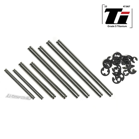 Titanium Hinge Pin Kit TRAXXAS® Slash® 2wd