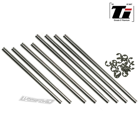 Titanium Hinge Pin Kit for TRAXXAS® T-MAXX® 2.5/T-MAXX® 3.3 (8)