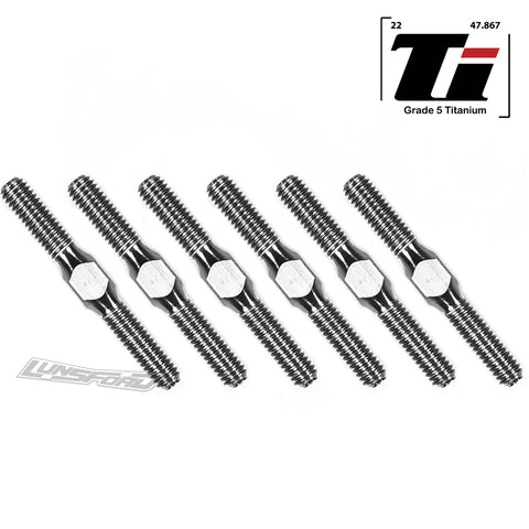 4mm Turnbuckle Kit for Arrma 1:10 3S 4x4 Mega Big Rock, Granite, Senton