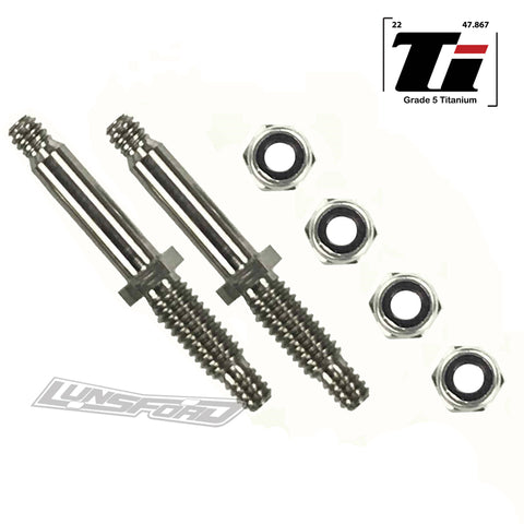 Titanium Front Axles for Team Associated RC10L / RC12L