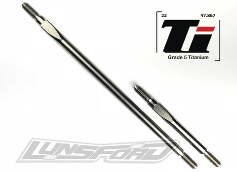 4mm Titanium Steering and Drag Link for TRAXXAS® TRX-4™