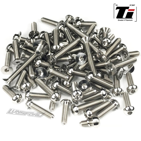 Titanium Screw Kit for TLR 22SCT 3.0 (85pcs)