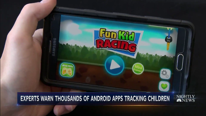 Thousands of Android Apps Compromising Kids Safety