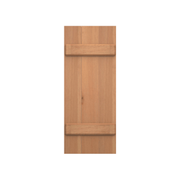 Board and Batten Cedar Shutter - 1 Pair
