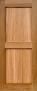 Framed Board and Batten Cedar Shutter - 1 Pair