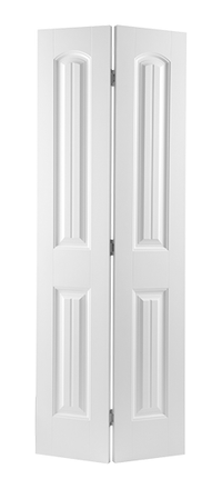 Smooth Cheyenne Molded Bifold Door (Primed)