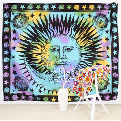 Wall Tapestry Moon And Sun 145cm x 165cm