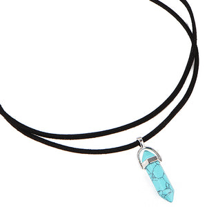Crystal Choker Necklace (Multiple Colors Available)