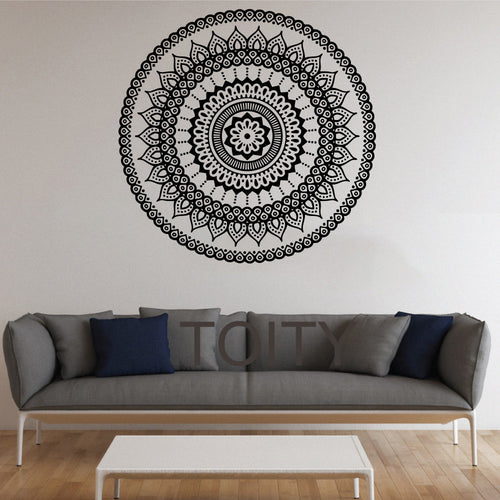 Mandala Wall Sticker (Multiple Colors Available)