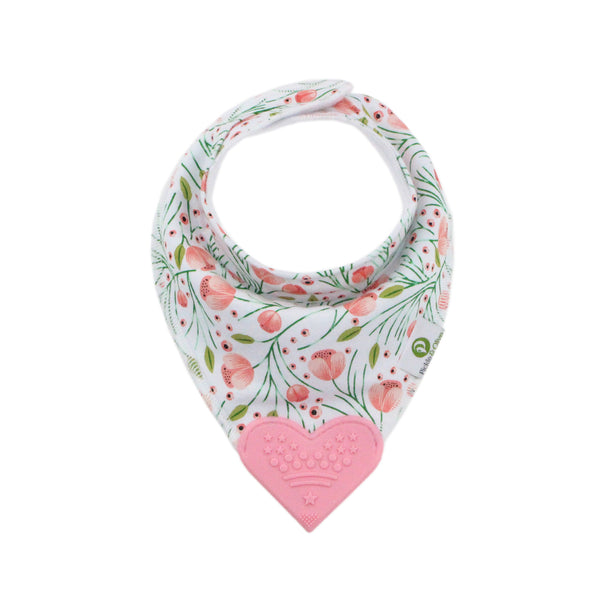 Floral Bandana Teething Bibs (4 Pack)