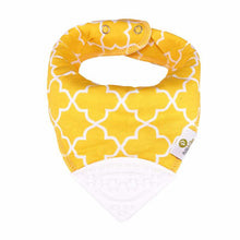 Yellow Elephant Bandana Teething Bibs (4 Pack)