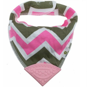 Houndstooth Bandana Teething Bibs (4 Pack)