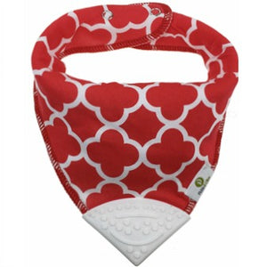 Red Feather Bandana Teething Bibs (4 Pack)