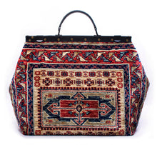 """Country Roads"" Genuine Handmade Carpet Bag"