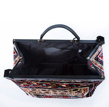 """Blue Ridge"" Voyager  Genuine Carpet Bag"
