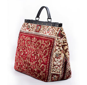 Country Road Genuine Carpet Bag, Persian Red