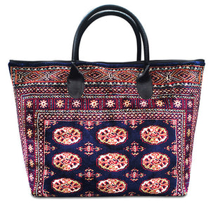 Knotty Voyager Genuine Carpet Bag