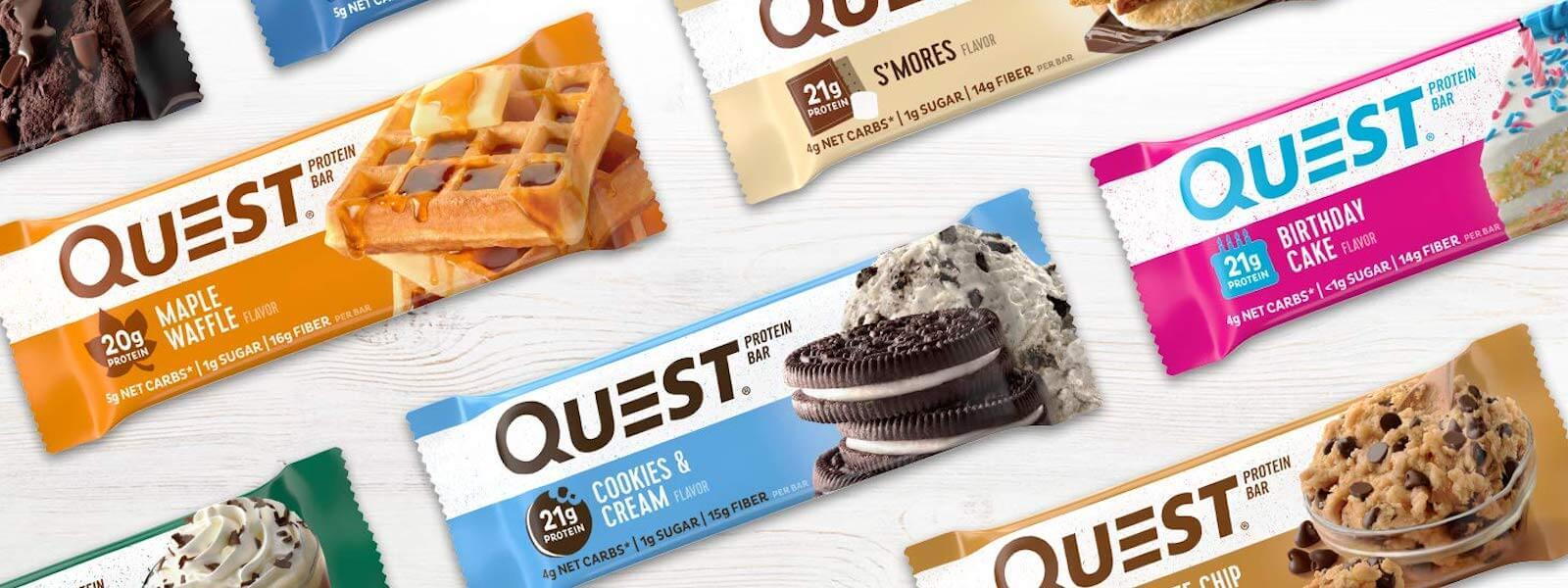 Eat Your Cravings and Stay Healthy with Quest Protein Bars Blog Post at Supplement Superstore Canada