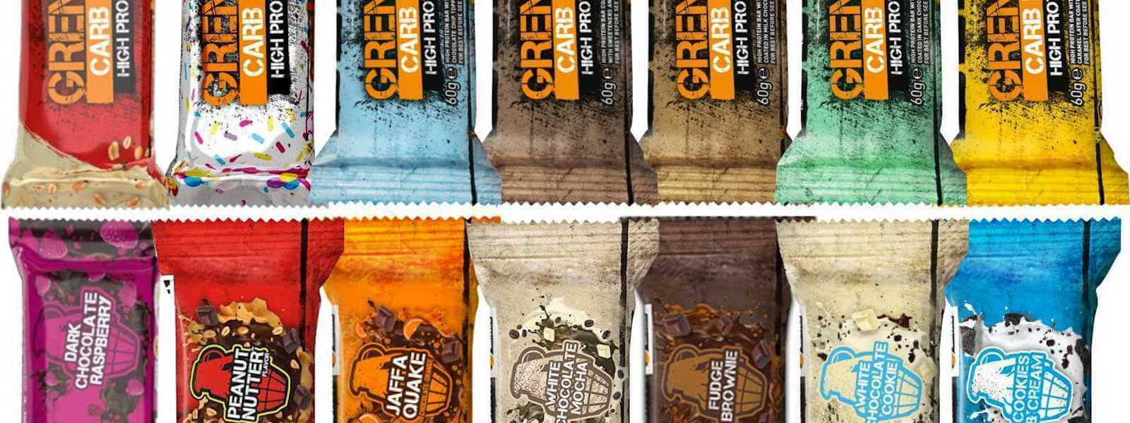 Grenade Bars High Protein, Low Carb Snack at Supplement Superstore Canada