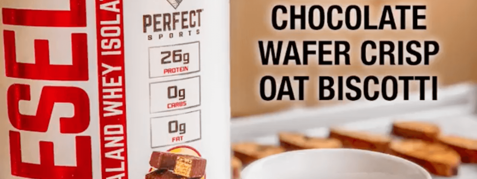 Perfect Sports Diesel Chocolate Wafer Crisp Oat Biscotti Recipe Supplements Canada