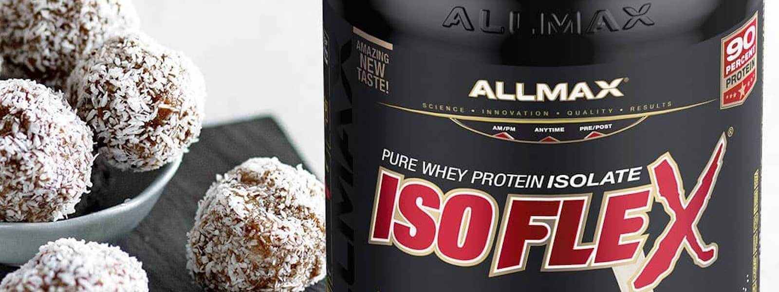 Recipe Allmax Isoflex Coconut Balls Supplement Source