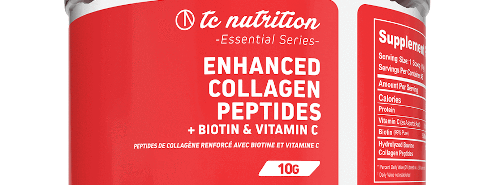 Now Available TC Nutrition Enhanced Collagen Peptides Supplements Canada
