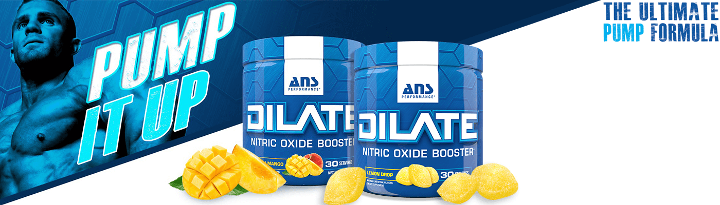 ANS Performance Dilate Pre Workout Pump at Supplement Superstore Canada