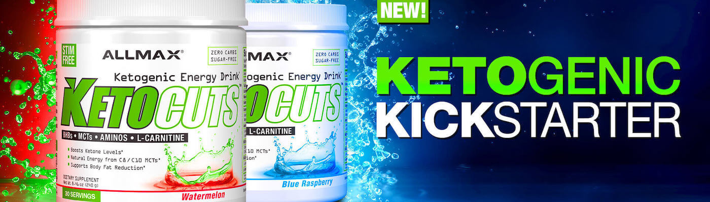 Allmax KetoCuts Ketogenic Diet BCAAs BHB Salt at Supplement Superstore Canada