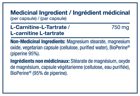 L Carnitine by PVL Raw Ingredients Carnitine at Supplement Superstore Canada