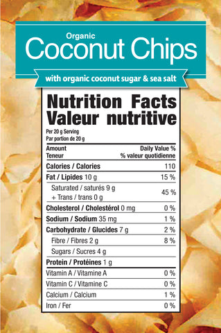 Coconut Chips by Prairie Naturals Functional Food at Supplement Superstore