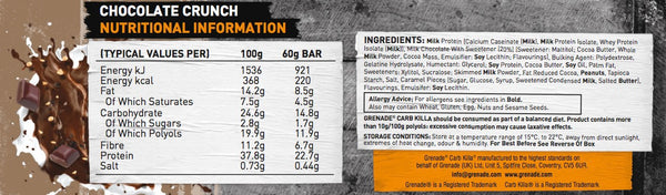 Grenade Bar By Grenade Functional Food Protein Bars at Supplement Superstore Canada
