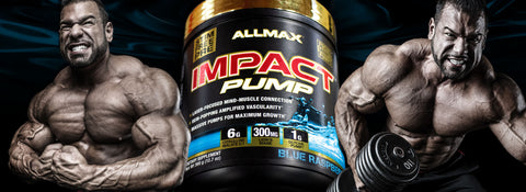 Allmax Impact Pump Pre Workout Pump and Vasodilator at Supplement Superstore Canada
