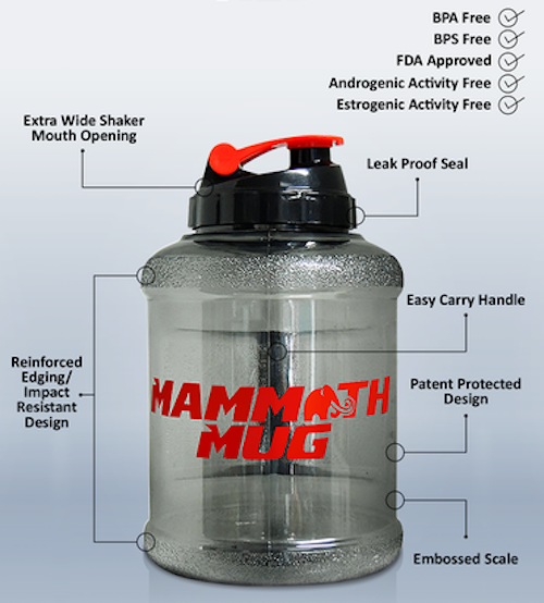Mammoth Mug by Mammoth Mug Accessory Shaker at Supplement Superstore Canada