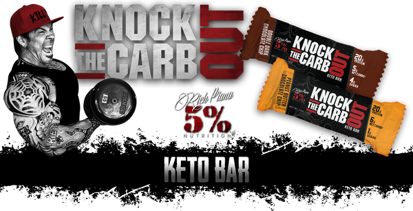 Knock The Carb Out Keto Bar by 5 Percent Nutrition Functional Food at Supplement Superstore