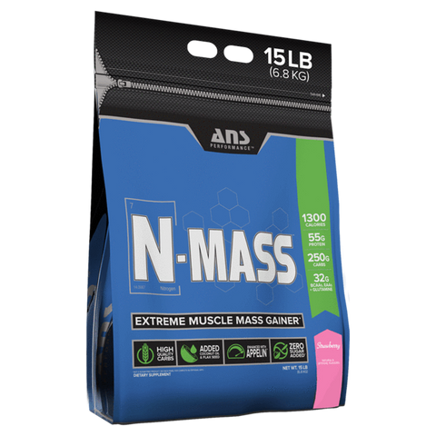 Strawberry N-Mass Extreme Mass Gainer, ANS