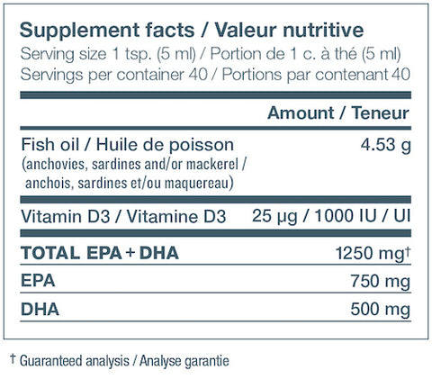 NutraSea plus Vitamin D by Ascenta Health Foundation Omega 3 Fish Oil at Supplement Superstore Canada