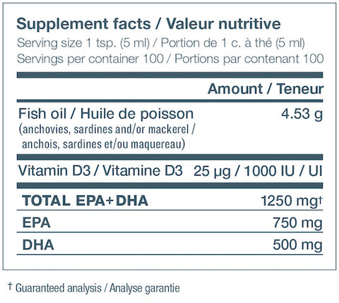 NutraSea plus Vitamin D by Ascenta Health Foundation Omega 3 Fish Oil at Supplement Superstore