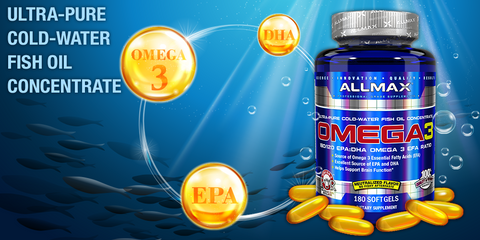 Omega 3 Fish Oil by Allmax General Health Foundation at Supplement Superstore
