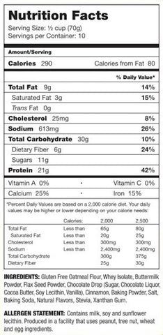 Chocolate Chip Protein Pancake Mix by About Time Functional Food at Supplement Superstore